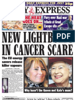 Daily Express Wednesday April 20 2011
