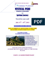 Peru Mystical Journey July 2013