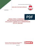 Manual de Indicadores DGDA