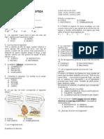 Evaluacion Diagnostica Cuarto Grado