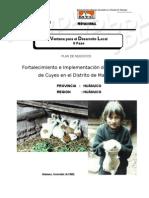 Plan de Negocios Proyecto Cuyes