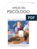 Papeles Del Psicologo - Vol 29