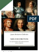 Mis Favoritos - Juan Antonio Cebrian