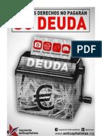 Periodico Campaña DERECHOS versus DEUDA Izquierda Anticapitalistas Mayo 2013