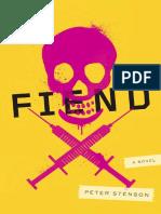 Fiend by Peter Stenson - Excerpt