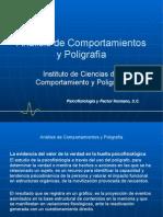 Analisis de Comportamiento y Poligrafia