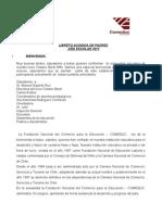 Libreto Acogida Padres 2013