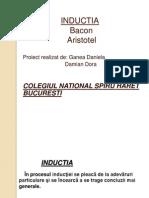 Proiect Inductie. Logica Clasa a 9a
