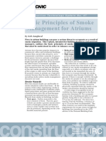 Basic Principles of Smoke Management for Atriums