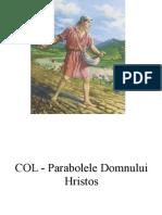 COL - Parabolele Domnului Hristos