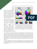 HSI - HSL - HSV