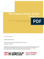 The Unsent Letter Guide 2nd Edition