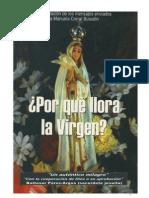 Porque Llora La Virgen
