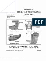 A Micropile Design and Construction Guidelines Manual