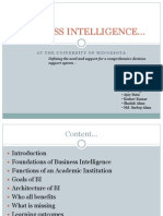 Business Intelligence Revisited (1)