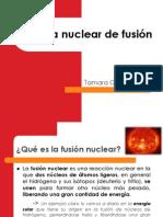 Energía nuclear de fusión