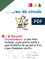 Area Circulo