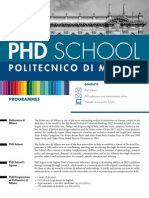 Phd General Presentation