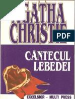 75258805 Agatha Christie Cantecul Lebedei Povestiri