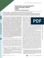 Helical Orientations Gpcr SalvinA 2007