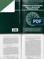 ALCÁZAR, J.A. LA FORMACIÓN HUMANA DEL EDUCADOR (2)