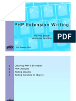 Writing PHP Extensions - PHP Quebec 2009