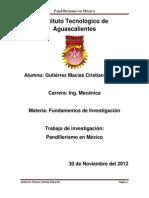 Pandillerismo en México
