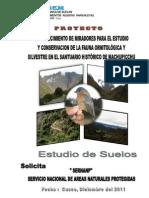 Estudio de Suelos Miradores Fauna Ornitologica