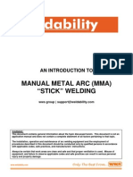 WWS Group an Introduction to Manual Metal Arc Stick Welding