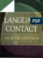 Language Contact an Introduction