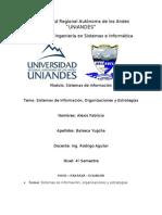 Sistemas de Informacion Para Estrategias y Organizaciones