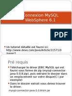 Connexion Mysql WebSphere 6.1