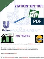 Presentation on HUL