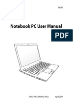 Manual Asus u46e - 0409