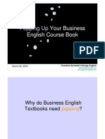 Pepping up your Business English Coursebooks