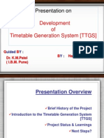 Time Tabling Arquitectura.ppt