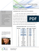 LTI Investment Newsletter - May 2013