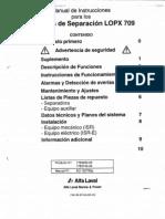 Depuradora Alfa Laval LOPX 709