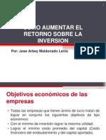 5-Como Aumentar El Retorno Sobre La Inversion