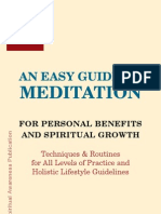 Easy Guide to Meditation