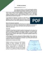 FUTBOL NACIONAL, FUTBOL INTERNACIONAL, MEDIDAS DE LA CANCHA DE FUTBOL Y QUE ES FIFA.docx