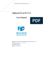 IQBoard ET & PS V7.0 User Manual(English) 130108