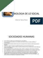 Biologia de Lo Social