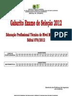 Gabarito Ed 76