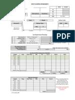 Dive Planning Worksheet