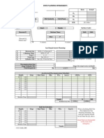 Dive Planning Worksheet