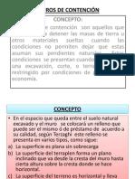 MUROS DE CONTENCIÓN PP