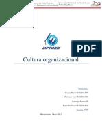 Trabajo de Cultura Organizacional