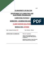 2006S1 Client Server Solutions