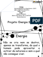 Projeto (Energia Solar)